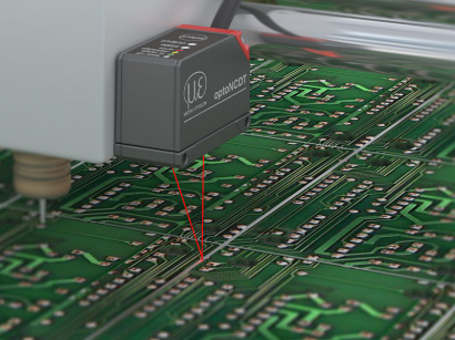 Inspection of scribe lines on PCBs