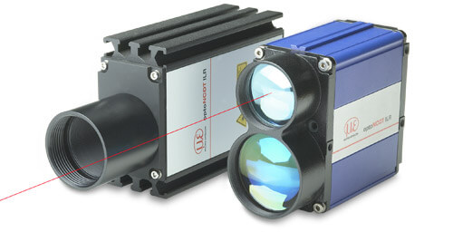 Laser distance sensors for extra long ranges