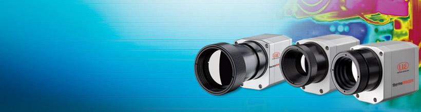 Thermal imaging cameras for industrial temperature monitoring