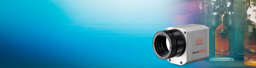 Thermal imaging camera for the glass industry with line scan feature